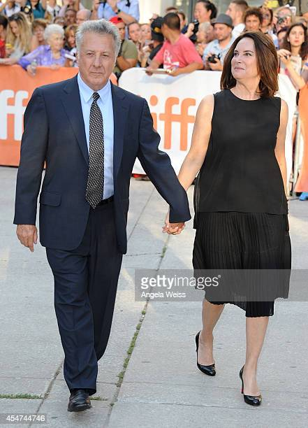 Actor Dustin Hoffman and Lisa Hoffman attend the 'Boychoir' premiere during the 2014 Toronto International Film Festival at Roy Thomson Hall on...