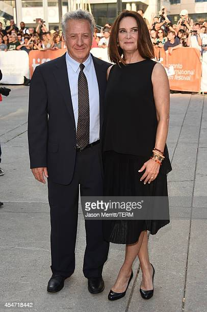 Actor Dustin Hoffman and Lisa Hoffman attends the Boychoir premiere during the 2014 Toronto International Film Festival at Roy Thomson Hall on...