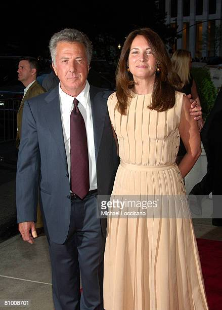 Actor Dustin Hoffman and wife Lisa Hoffman attend the HBO Documentaries premiere Of Roman Polanski Wanted And Desired at The Paris Thatre in New York...