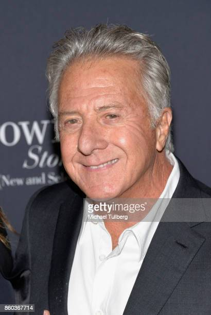 Actor Dustin Hoffman attends a screening of Netflix's The Meyerowitz Stories at Directors Guild Of America on October 11 2017 in Los Angeles...