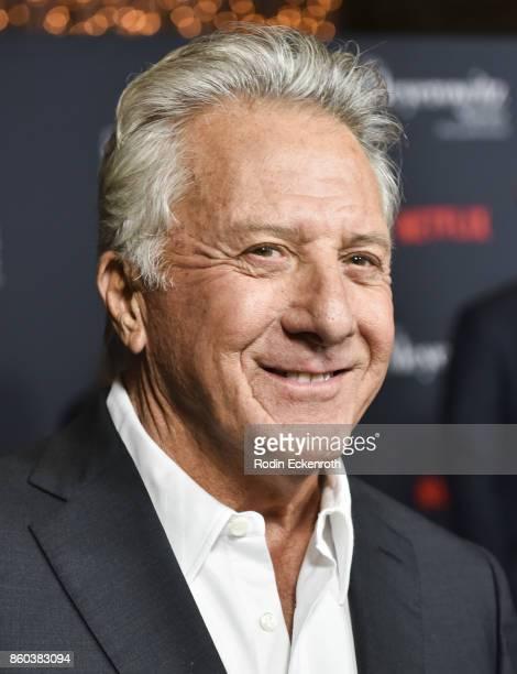 Actor Dustin Hoffman attends screening of Netflix's 'The Meyerowitz Stories ' at Directors Guild Of America on October 11 2017 in Los Angeles...