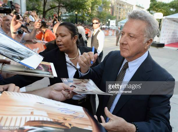 Actor Dustin Hoffman attends the Boychoir premiere during the 2014 Toronto International Film Festival at Roy Thomson Hall on September 5 2014 in...