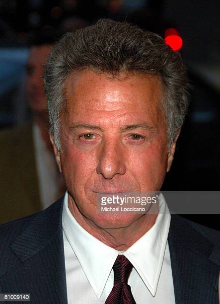Actor Dustin Hoffman attends the HBO Documentaries premiere Of Roman Polanski Wanted And Desired at The Paris Thatre in New York City on May 6 2008