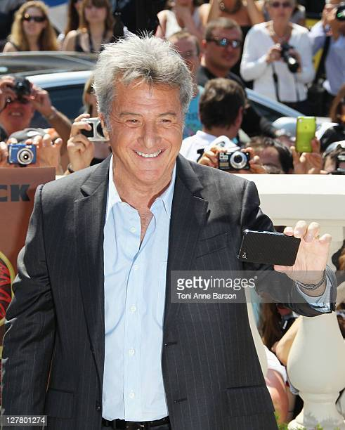 Actor Dustin Hoffman attends the 'Kung Fu Panda II' Photocall during the 64th Cannes Film Festival at the Carlton Hotel on May 12 2011 in Cannes...