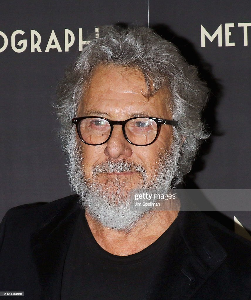 Actor Dustin Hoffman attends the Metrograph opening night at Metrograph on March 2, 2016 in New York City.