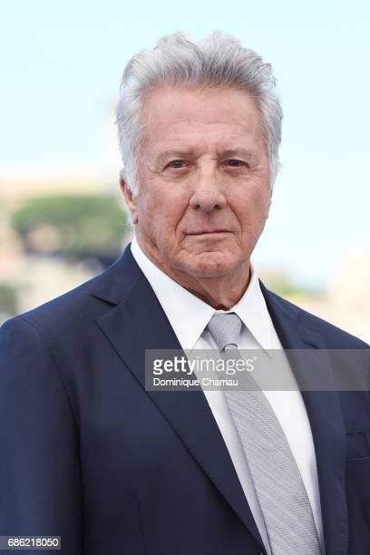 Actor Dustin Hoffman attends 'The Meyerowitz Stories' photocall during the 70th annual Cannes Film Festival at Palais des Festivals on May 21 2017 in...