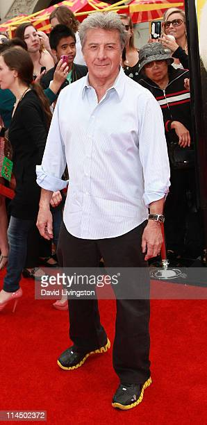 Actor Dustin Hoffman attends the premiere of DreamWorks Animation's 'Kung Fu Panda 2' at Mann's Chinese Theatre on May 22 2011 in Hollywood California