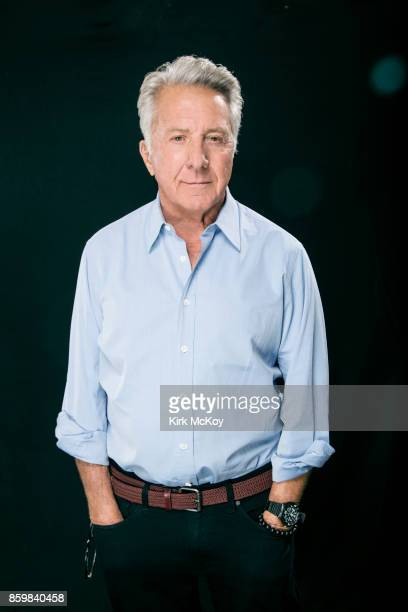 Actor Dustin Hoffman of the film The Meyerowitz Stories' is photographed for Los Angeles Times on September 19 2017 in Los Angeles California...