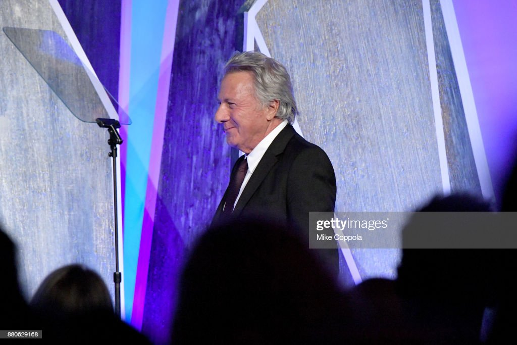 Actor Dustin Hoffman speaks onstage during IFP's 27th Annual Gotham Independent Film Awards on November 27, 2017 in New York City.