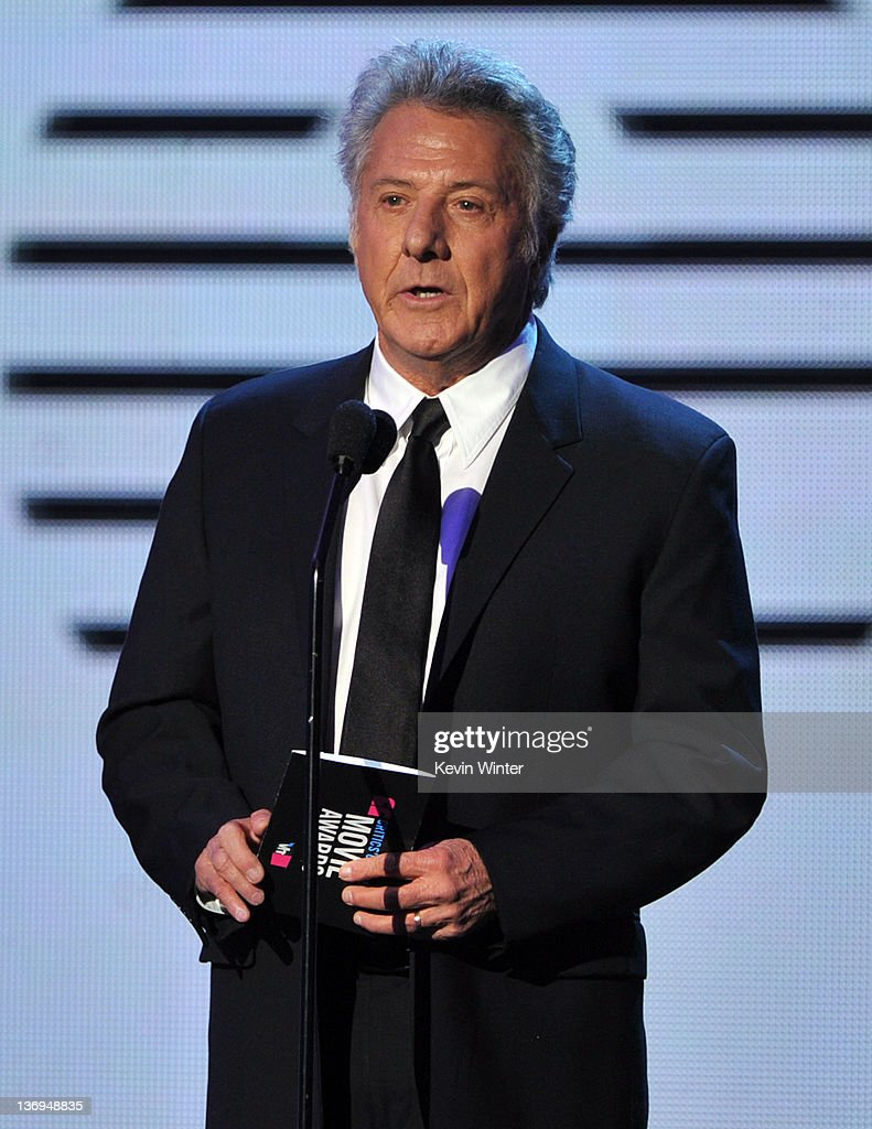 Actor Dustin Hoffman speaks onstage during the 17th Annual Critics' Choice Movie Awards held at The Hollywood Palladium on January 12, 2012 in Los Angeles, California.