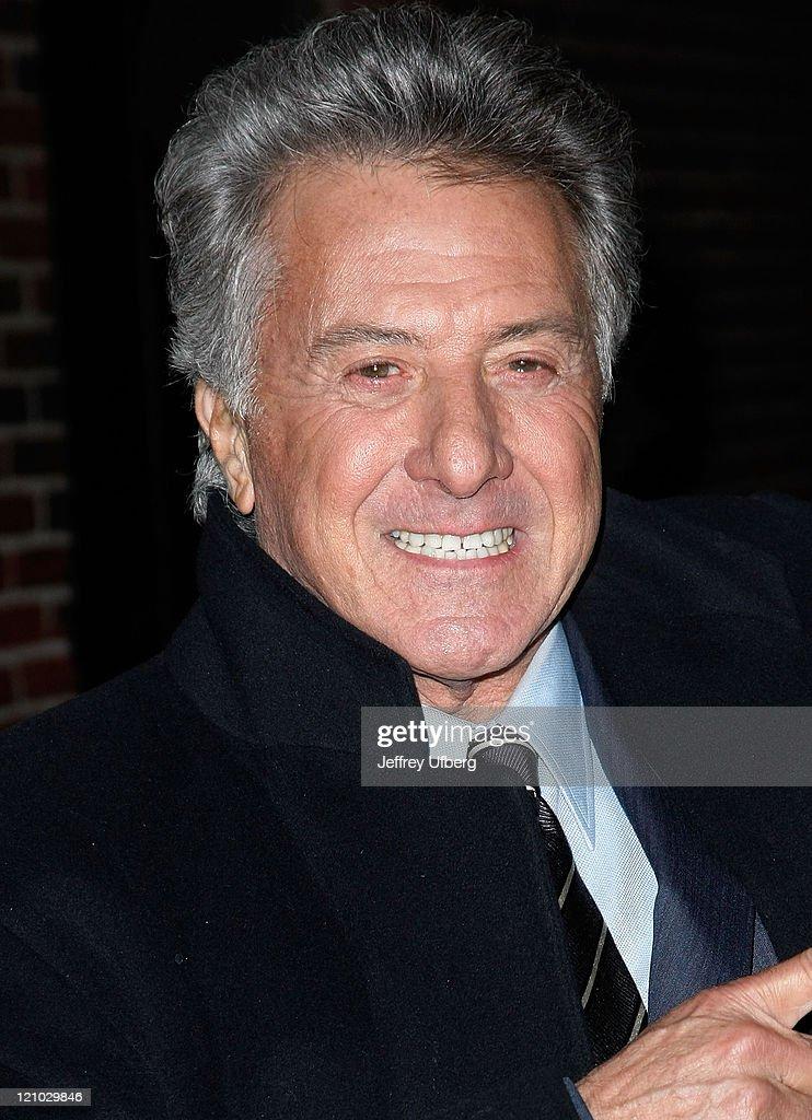 Dustin Hoffman, Todd Rundgren, Tracy Morgan, Matt Braunger Visit Late Show