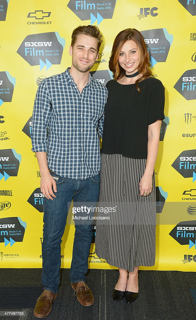 Actor Dustin Milligan and actress Aly Michalka attend the 'Sequoia' premiere during the 2014 SXSW Music, Film + Interactive Festival at the Topfer Theatre at ZACH on March 9, 2014 in Austin, Texas.