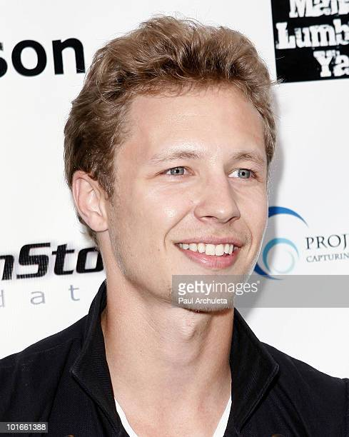 Actor Dustin Varpness arrives at the 1st annual My Ocean Planet fundraiser benefitting project Kaisei at The Malibu Lumber Yard on June 5 2010 in...
