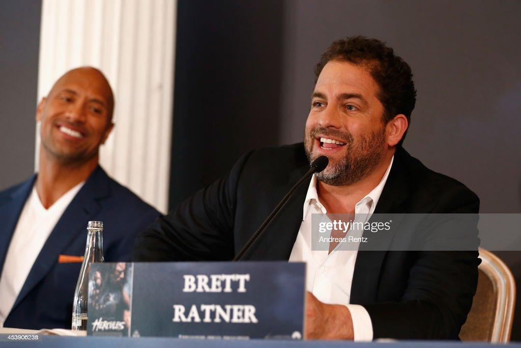 'Hercules' Berlin Press Conference : News Photo