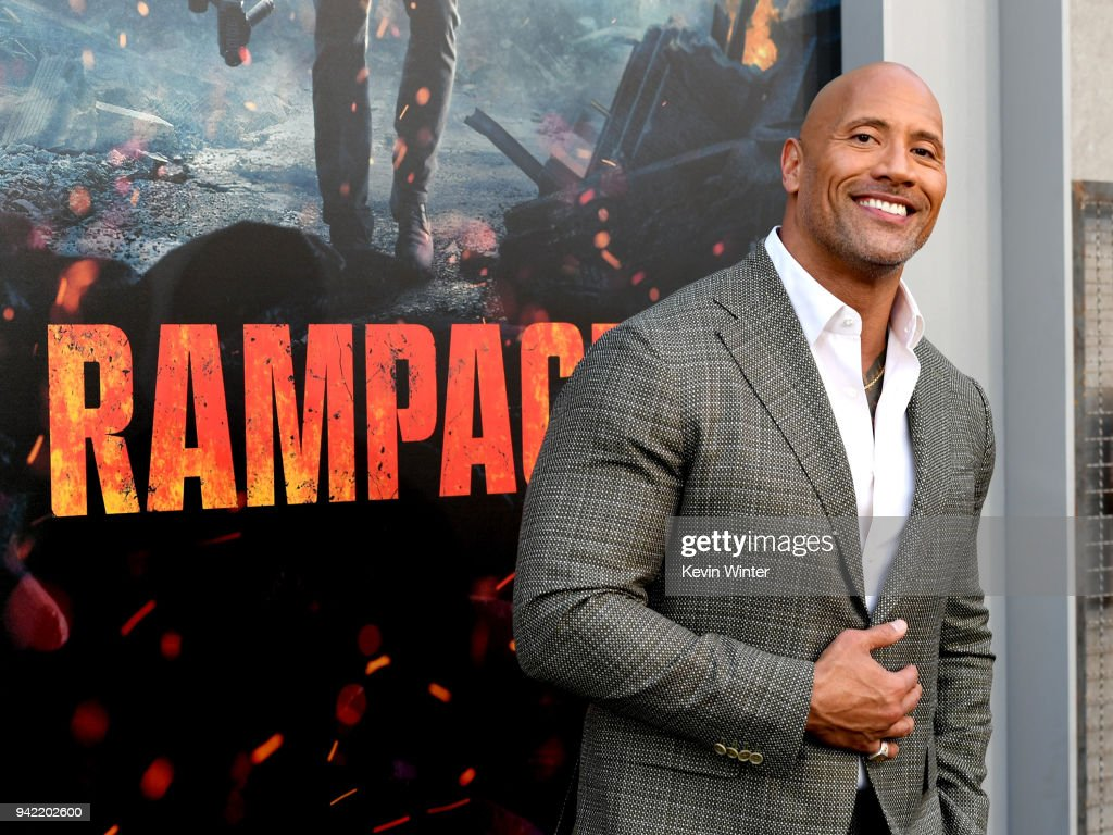 """Premiere of Warner Bros. Pictures' """"Rampage"""" - Red Carpet : News Photo"""