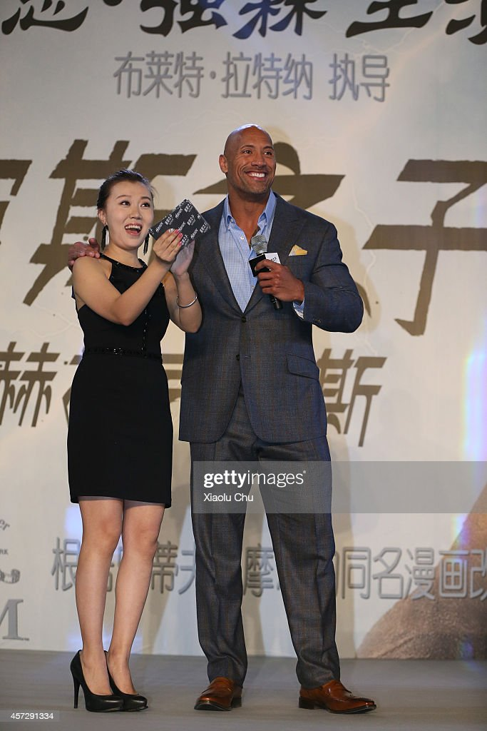 Hercules Chinese Press Conference : News Photo
