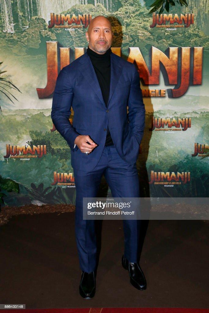 """Jumanji"" : Welcome to the Jungle -Jumanji : Bienvenue dans la jungle-"" Paris Premiere at Le Grand Rex"