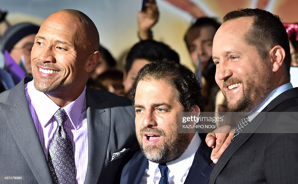 Us Actor Dwayne Johnson Director Brett Ratner And