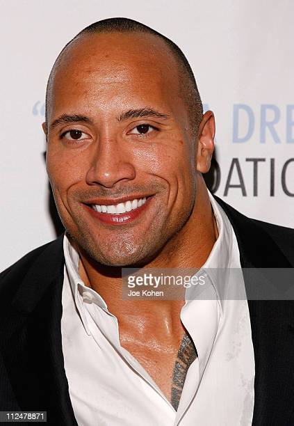 "Actor Dwayne ""The Rock"" Johnson attends the 2009 I Have a Dream Foundation spring gala at 583 Park Avenue June 11, 2009 in New York City."