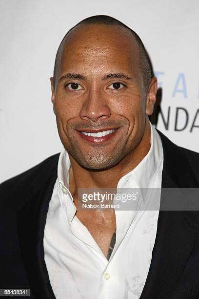 "Actor Dwayne ""The Rock"" Johnson attends the 2009 I Have A Dream Foundation Spring Gala at 583 Park Avenue on June 11, 2009 in New York City."