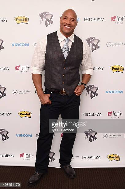 Actor Dwayne 'The Rock' Johnson attends 'The Next Intersection For Hollywood with William Morris Endeavor's Ari Emanuel Patrick Whitesell and Dwayne...