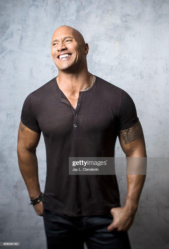 "Dwayne ""The Rock"" Johnson, Los Angeles Times, November 16, 2016"