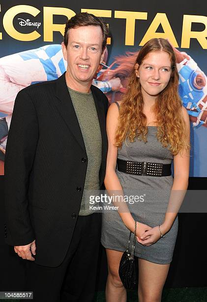 Actor Dylan Baker and Willa Baker attend the premiere Of Walt Disney Pictures' Secretariat at the El Capitan Theatre on September 30 2010 in...