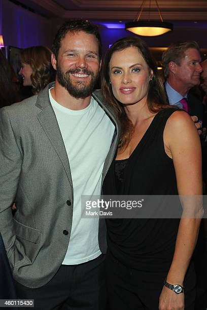Actor Dylan Bruno and Emmeli Hultquist attend the Deer Valley Celebrity Skifest held at the Silver Lake Lodge in Deer Valley on December 6, 2014 in...