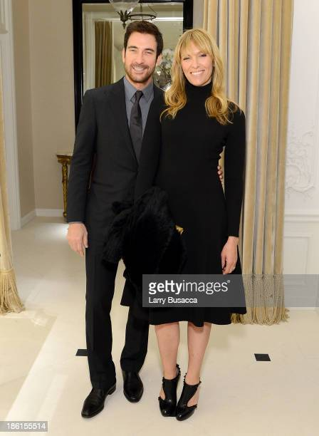 Actor Dylan McDermott and actress Toni Collette attend Ralph Lauren Presents Exclusive Screening Of Hitchcock's To Catch A Thief Celebrating The...