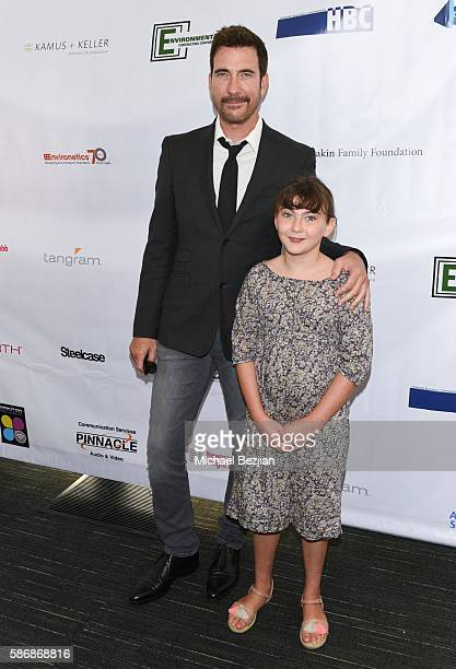 Actor Dylan McDermott and Charlotte arrive at the 4th Annual Ed Asner and Friends Poker Tournament for Autism Speaks at South Park Center on August 6...