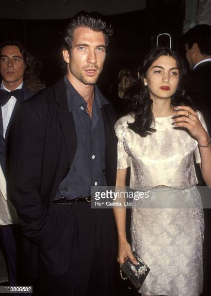"Actor Dylan McDermott and girlfriend Shiva Rose attend the ""Emporio of Arabia"" Morrocan Themed Bash to Celebrate the Grand Opening of the New Emporio..."