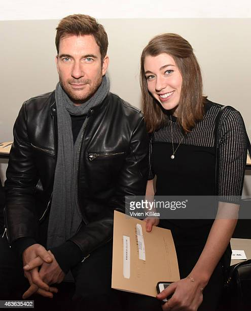 Actor Dylan McDermott and his daughter Colette McDermott attend the rag bone show during MercedesBenz Fashion Week Fall 2015 at Spring Studios on...