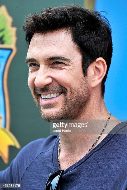 Actor Dylan McDermott attends Camp Snoopy's 30th anniversary VIP party at Knott's Berry Farm on June 26 2014 in Buena Park California