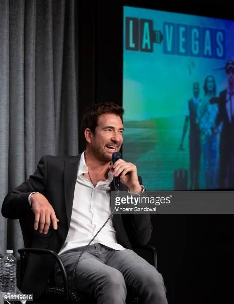 Actor Dylan McDermott attends SAGAFTRA Foundation Conversations screening of 'LA To Vegas' at SAGAFTRA Foundation Screening Room on April 18 2018 in...