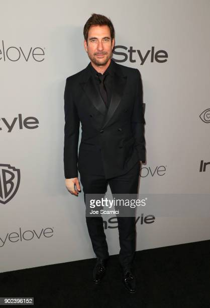 Actor Dylan McDermott attends the 2018 InStyle and Warner Bros 75th Annual Golden Globe Awards PostParty at The Beverly Hilton Hotel on January 7...