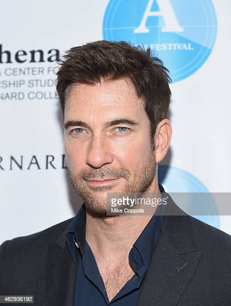 Actor Dylan McDermott attends the 5th Annual Athena Film Festival Ceremony Reception at Barnard College on February 7 2015 in New York City