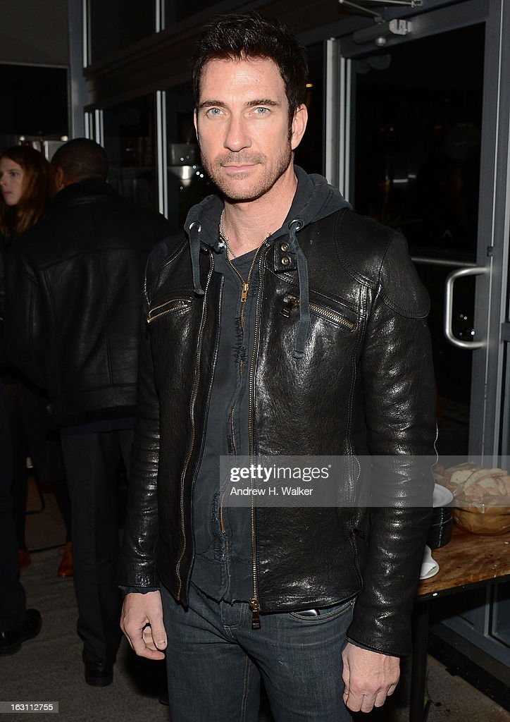 Actor Dylan McDermott attends the after party for The Cinema Society & Make Up For Ever screening of 'Electrick Children' at Hotel Americano on March 4, 2013 in New York City.