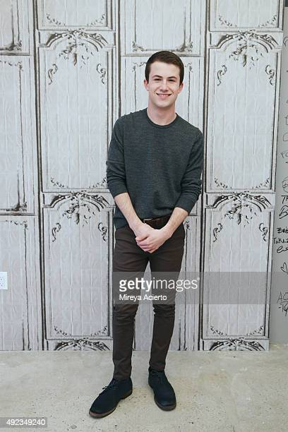 Actor Dylan Minnette attends the AOL Build Presents 'Goosebumps' at AOL Studios in New York on October 12 2015 in New York City