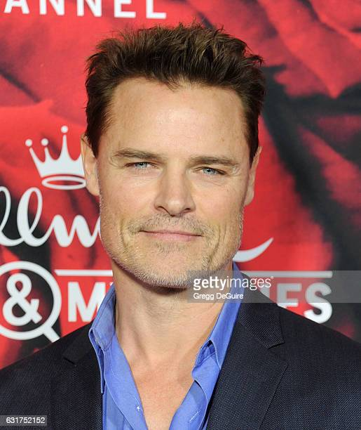 Actor Dylan Neal arrives at Hallmark Channel And Hallmark Movies And Mysteries Winter 2017 TCA Press Tour at The Tournament House on January 14, 2017...