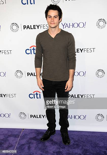 Actor Dylan O'Brien arrives for The Paley Center For Media's 32nd Annual PALEYFEST LA Teen Wolf held at Dolby Theatre on March 11 2015 in Hollywood...