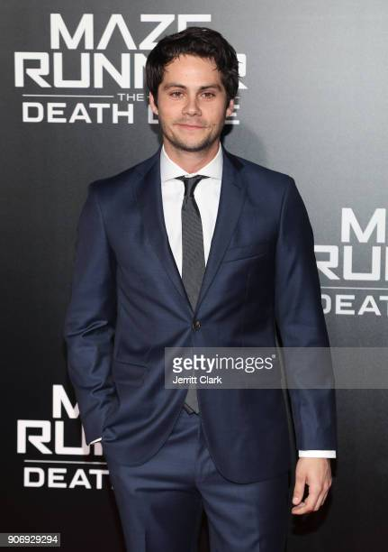 Actor Dylan O'Brien attends the fan screening of 20th Century Fox's 'Maze Runner The Death Cure' at AMC Century City 15 theater on January 18 2018 in...
