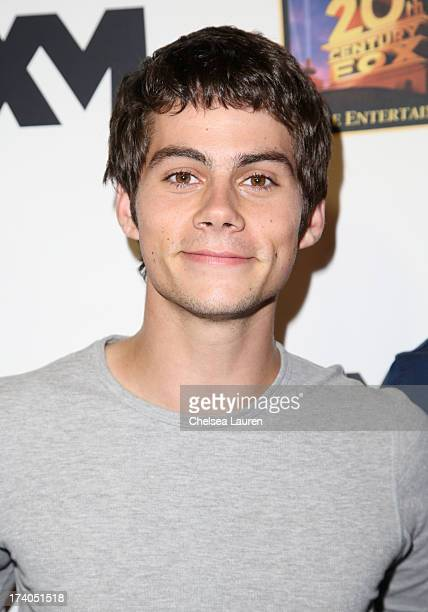 Actor Dylan O'Brien attends the Maxim FX and Home Entertainment ComicCon Party on July 19 2013 in San Diego California