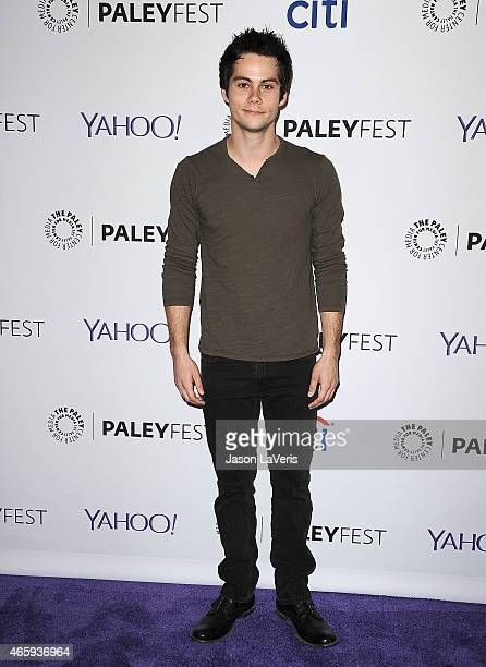 Actor Dylan O'Brien attends the Teen Wolf event at the 32nd annual PaleyFest at Dolby Theatre on March 11 2015 in Hollywood California