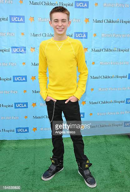Actor Dylan Riley Snyder arrives to the 'Mattel Party on the Pier' benefiting Mattel Children's Hospital UCLA at Pacific Park on the Santa Monica...