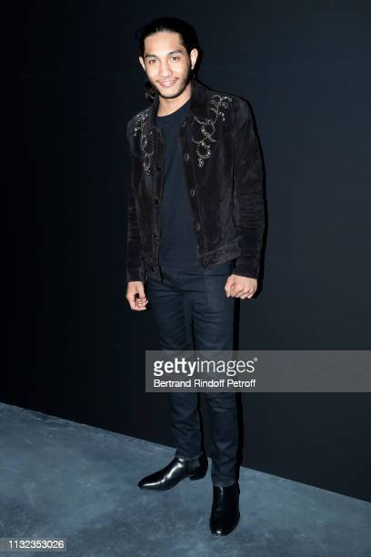 Actor Dylan Robert attends the Saint Laurent show as part of the Paris Fashion Week Womenswear Fall/Winter 2019/2020 on February 26 2019 in Paris...