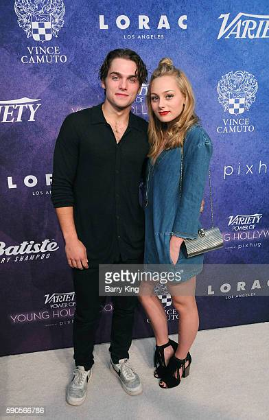 Actor Dylan Sprayberry and sister/actress Ellery Sprayberry attend Variety's Power of Young Hollywood event presented by Pixhug with Platinum Sponsor...