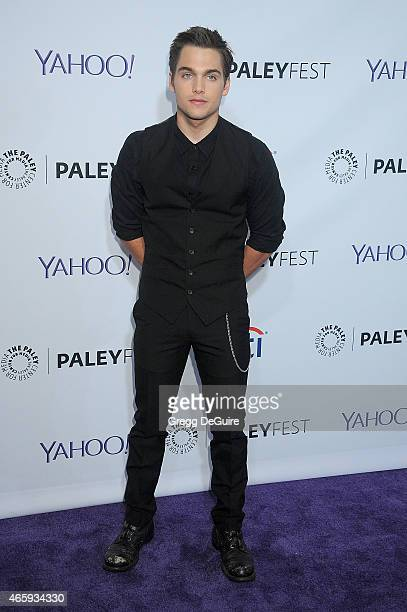 Actor Dylan Sprayberry arrives at the 32nd Annual PALEYFEST LA 'Teen Wolf' at Dolby Theatre on March 11 2015 in Hollywood California