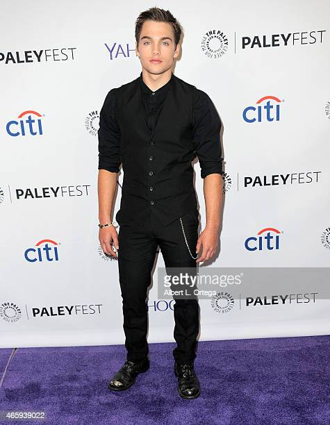 Actor Dylan Sprayberry arrives for The Paley Center For Media's 32nd Annual PALEYFEST LA 'Teen Wolf' held at Dolby Theatre on March 11 2015 in...
