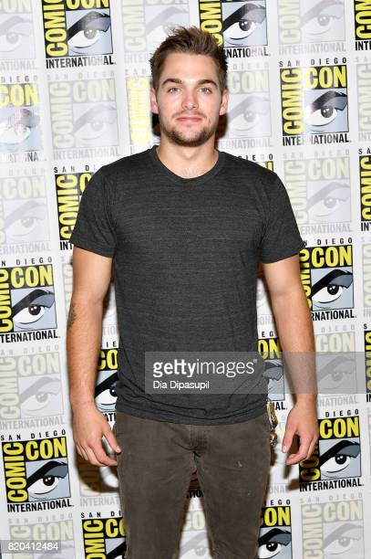 Actor Dylan Sprayberry at the 'Teen Wolf' Press Line during ComicCon International 2017 at Hilton Bayfront on July 21 2017 in San Diego California