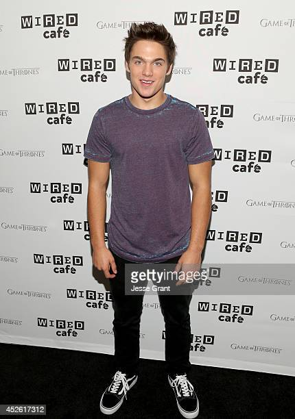 Actor Dylan Sprayberry attends day 1 of the WIRED Cafe @ Comic Con at Omni Hotel on July 24 2014 in San Diego California